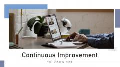 Continuous Improvement Develop Plan Ppt PowerPoint Presentation Complete Deck With Slides