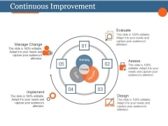Continuous Improvement Ppt PowerPoint Presentation Guidelines