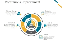 Continuous Improvement Ppt PowerPoint Presentation Slide Download