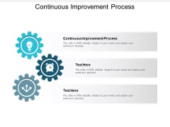 Continuous Improvement Process Ppt PowerPoint Presentation File Gallery Cpb