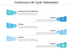 Continuous Life Cycle Optimization Ppt PowerPoint Presentation Outline Layout Cpb