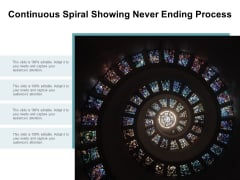 Continuous Spiral Showing Never Ending Process Ppt Powerpoint Presentation Portfolio Deck