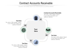 Contract Accounts Receivable Ppt PowerPoint Presentation Gallery Elements Cpb Pdf