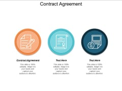 Contract Agreement Ppt Powerpoint Presentation Gallery Background Image Cpb