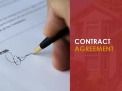 Contract Agreement Ppt PowerPoint Presentation Graphics