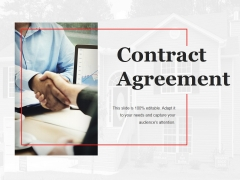 Contract Agreement Template 1 Ppt PowerPoint Presentation Infographics Tips