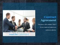 Contract Agreement Template 2 Ppt PowerPoint Presentation Background Images