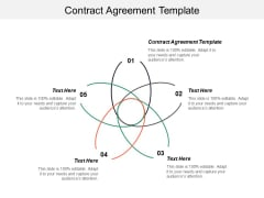 Contract Agreement Template Ppt PowerPoint Presentation Visual Aids Summary Cpb