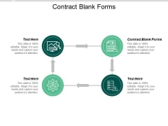 Contract Blank Forms Ppt PowerPoint Presentation Show Master Slide Cpb