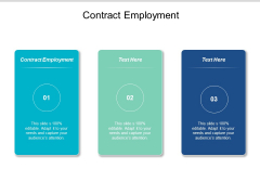 Contract Employment Ppt PowerPoint Presentation Ideas Backgrounds Cpb