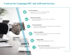 Contract For Campaign PPC And Adwords Services Brochure PDF