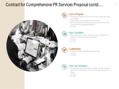 Contract For Comprehensive PR Services Proposal Contd Ppt PowerPoint Presentation Ideas Background