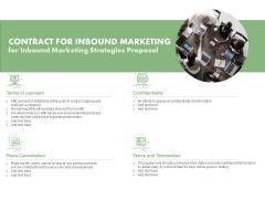 Contract For Inbound Marketing For Inbound Marketing Strategies Proposal Ppt PowerPoint Presentation Slides