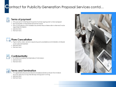 Contract For Publicity Generation Proposal Services Contd Ppt PowerPoint Presentation Outline Diagrams