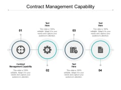 Contract Management Capability Ppt PowerPoint Presentation Styles Shapes Cpb