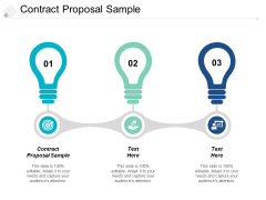 Contract Proposal Sample Ppt Powerpoint Presentation Infographic Template Layouts Cpb