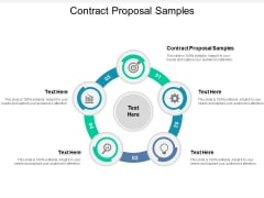 Contract Proposal Samples Ppt PowerPoint Presentation Gallery Themes