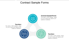 Contract Sample Forms Ppt Powerpoint Presentation Layouts Icon Cpb