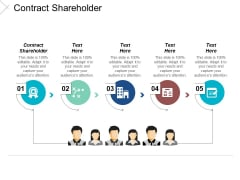 Contract Shareholder Ppt Powerpoint Presentation Model Infographic Template Cpb