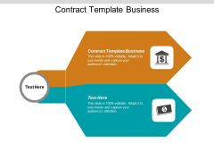 Contract Template Business Ppt PowerPoint Presentation Portfolio Show Cpb