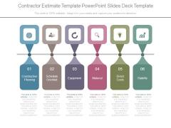 Contractor Estimate Template Powerpoint Slides Deck Template