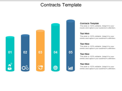 Contracts Template Ppt PowerPoint Presentation Slides Clipart Images Cpb