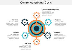 Control Advertising Costs Ppt PowerPoint Presentation Show Visuals Cpb