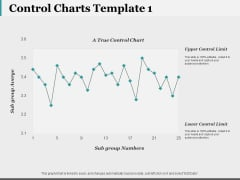 Control Charts Template 1 Ppt PowerPoint Presentation Show Graphics Design