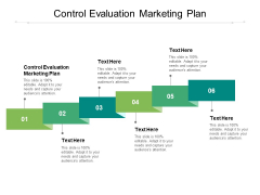 Control Evaluation Marketing Plan Ppt PowerPoint Presentation Professional Structure Cpb