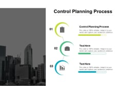 Control Planning Process Ppt PowerPoint Presentation Inspiration Aids Cpb