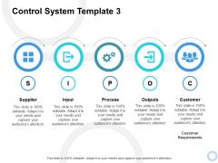 Control System Customer Ppt PowerPoint Presentation File Microsoft