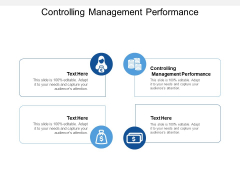 Controlling Management Performance Ppt PowerPoint Presentation Model Smartart Cpb