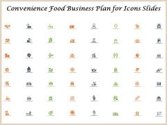 Convenience Food Business Plan Convenience Food Business Plan For Icons Slides Portrait PDF