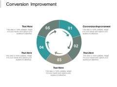 Conversion Improvement Ppt PowerPoint Presentation File Deck Cpb