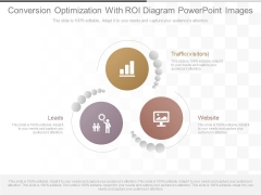 Conversion Optimization With Roi Diagram Powerpoint Images