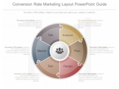 Conversion Rate Marketing Layout Powerpoint Guide