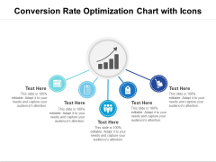 Conversion Rate Optimization Chart With Icons Ppt PowerPoint Presentation File Example PDF