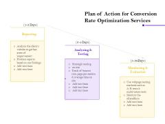 Conversion Rate Optimization Plan Of Action For Conversion Rate Optimization Services Ppt Show Inspiration PDF