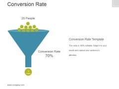 Conversion Rate Template 2 Ppt PowerPoint Presentation Example File