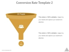 Conversion Rate Template 2 Ppt PowerPoint Presentation Picture