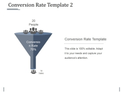 Conversion Rate Template 3 Ppt PowerPoint Presentation Slides Smartart