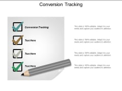 Conversion Tracking Ppt PowerPoint Presentation Outline Graphics Cpb