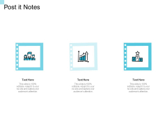 Convertible Market Notes Post It Notes Ppt Outline Infographics PDF