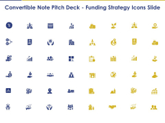 Convertible Note Pitch Deck Funding Strategy Icons Slide Ppt PowerPoint Presentation Inspiration Images PDF