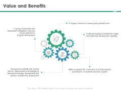 Cops Value And Benefits Ppt Summary PDF