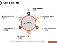 Core Elements Customer Understanding Ppt PowerPoint Presentation Pictures