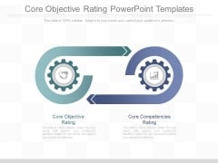 Core Objective Rating Powerpoint Templates