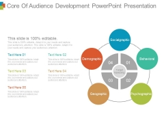 Core Of Audience Development Powerpoint Presentation