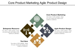 Core Product Marketing Agile Product Design Enterprise Resource Ppt PowerPoint Presentation Infographics Picture