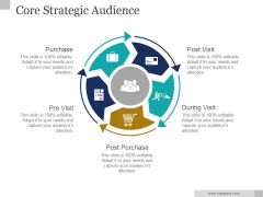 Core Strategic Audience Ppt PowerPoint Presentation Visuals
